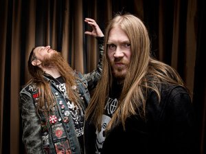 Fenriz and Nocturno Culto